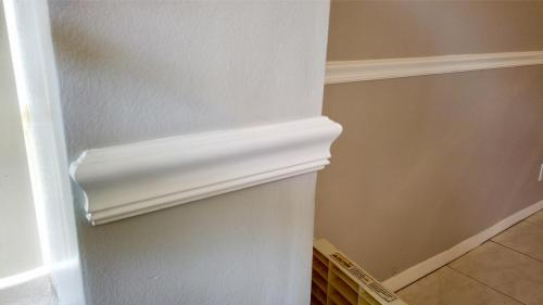 Awilda Crown and Chair Moulding with Interior Painting